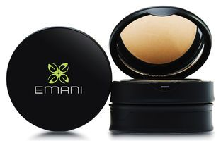 EMANI Pressed Mineral Foundation, 12g. Can be used as a coverage foundation or finishing powder. This mineral-based foundation gives smooth finish to the skin without sacrificing its natural beauty.
