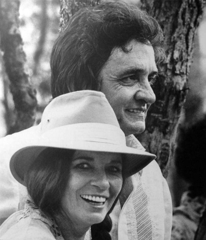 Johnny Cash and his wife June Carter Cash!