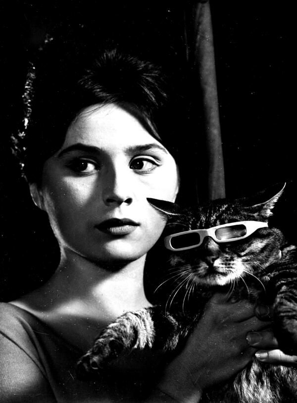 The Cat Who Wore Sunglasses by Juraj Herz is a funny but weird movie from Czechoslavakia.
