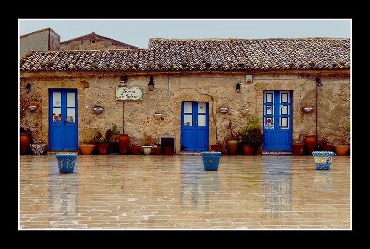 Marzamemi, Sicilya,Italya
