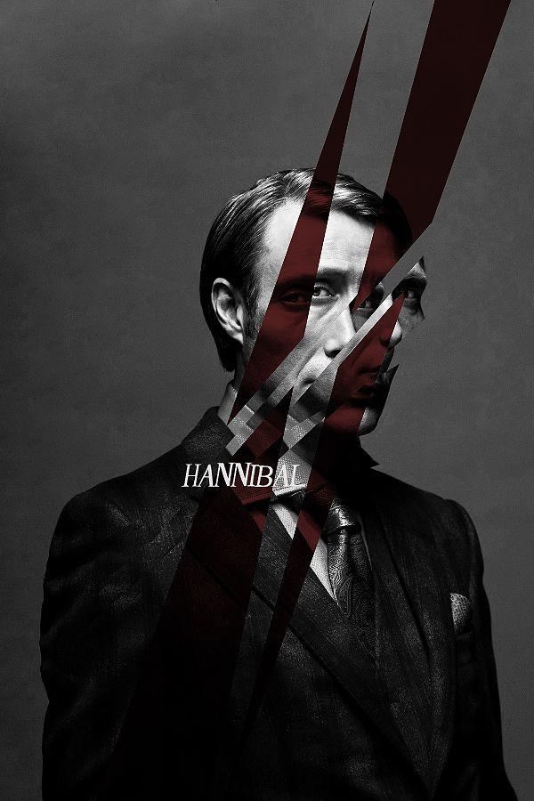 Série - Hannibal - Affiche