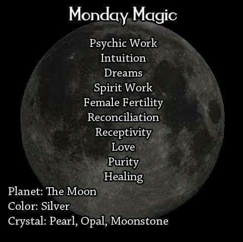 Magick Spells:  Monday #Magic.