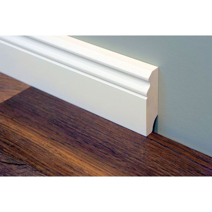Hamburg Old German Baseboards Baseboards Birch Solid 20x70 Mm Painted White