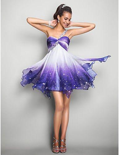 Excelentes vestidos de fiesta cortos   Moda y Tendencias 2014