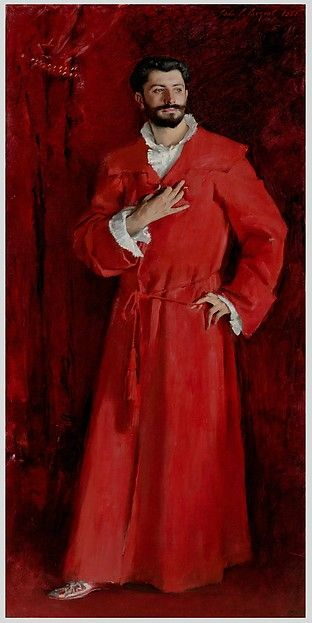 """John Singer Sargent (American, 1856–1925). Dr. Pozzi at Home, 1881. The Armand Hammer Collection, Gift of the Armand Hammer Foundation. Hammer Museum, Los Angeles. 