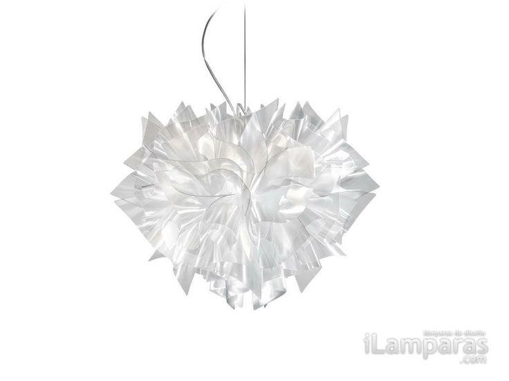 Veli suspension large prisma 4xe27 20w (VEL78SOS0003LE000) - Slamp / iLamparas.com