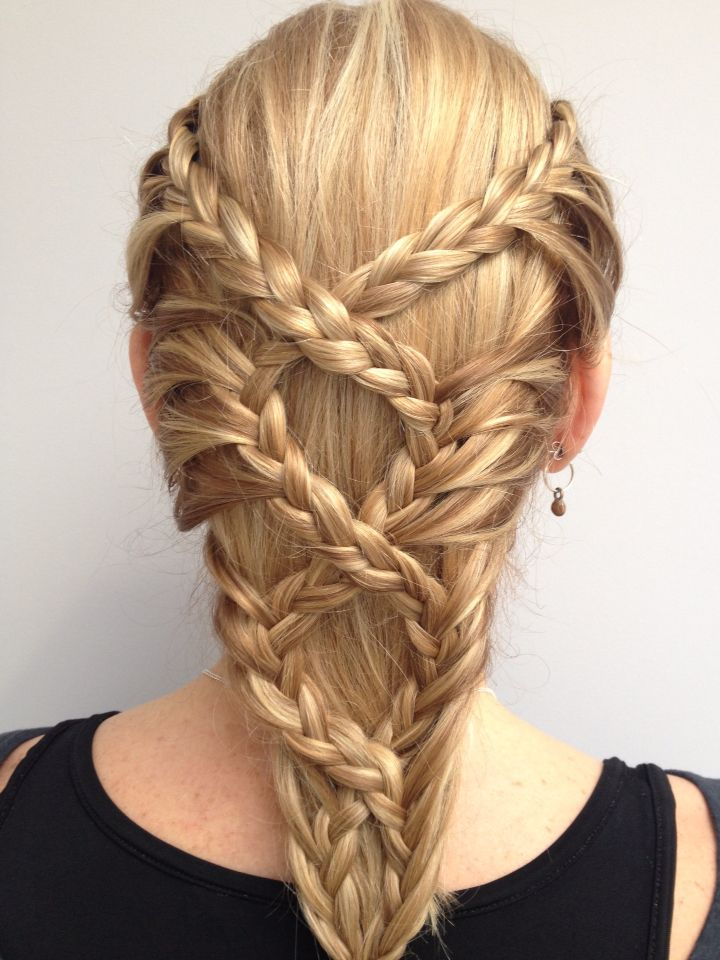 Medieval Lace Braids! Look Beautiful!