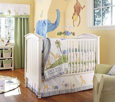 Jungle Friends Nursery Bedding Set #WilliamsSonomaFriends Nurseries, Jungles Theme, Nurseries Beds, Baby Boys, Jungles Friends, Baby Room, Jungles Nurseries, Pottery Barns, Jungles Animal
