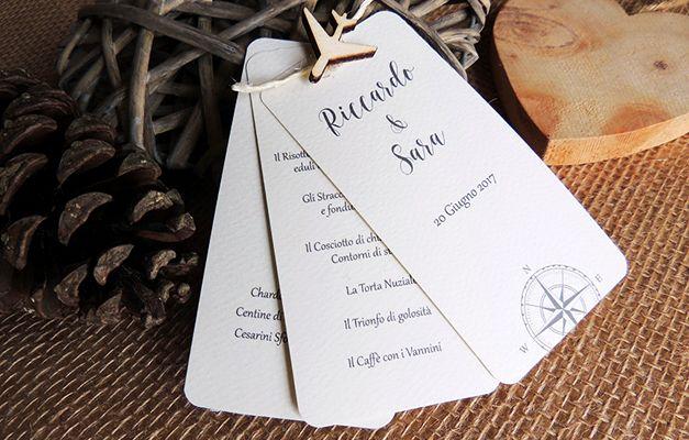 Matrimonio.it | Menù matrimonio fai da te a tema viaggio: Un tutorial per realizzare il vostro menù di nozze fai da te a tema viaggio.