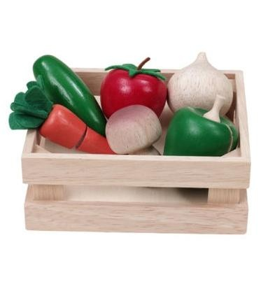 Veggie Basket Play Food Set, $24.99