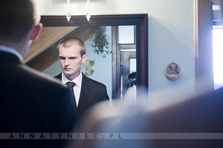 Portret Pana Młodego | fotografia ślubna Wrocław | https://www.facebook.com/AnnaTyniecFotografie