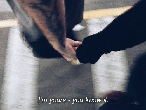 I'm yours - You know it