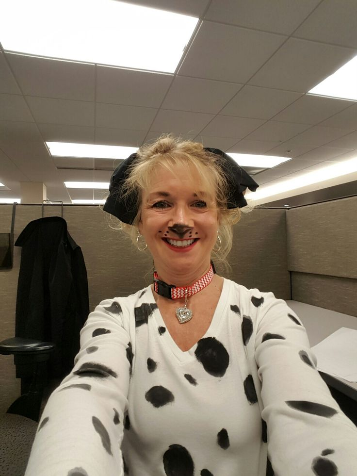 Dalmation Puppy Costume Diy Old Shirt Painted With