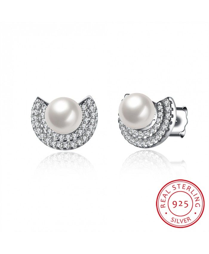 925 Sterling Silver Fashion Ear Studs Free To Get 100% Real 925 Sterling Silver Rings! More related products reached its lowest discount! Top Quality Silver Rings, hot sale Gorgeous Engagement Rings and special Jewelry Rings of different materials for you! Don't miss it!