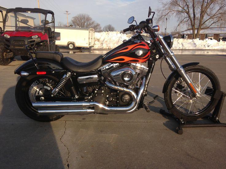 Sick Custom Dyna Wide Glide: 12 Best 2013 Harley Davidson Images On Pinterest
