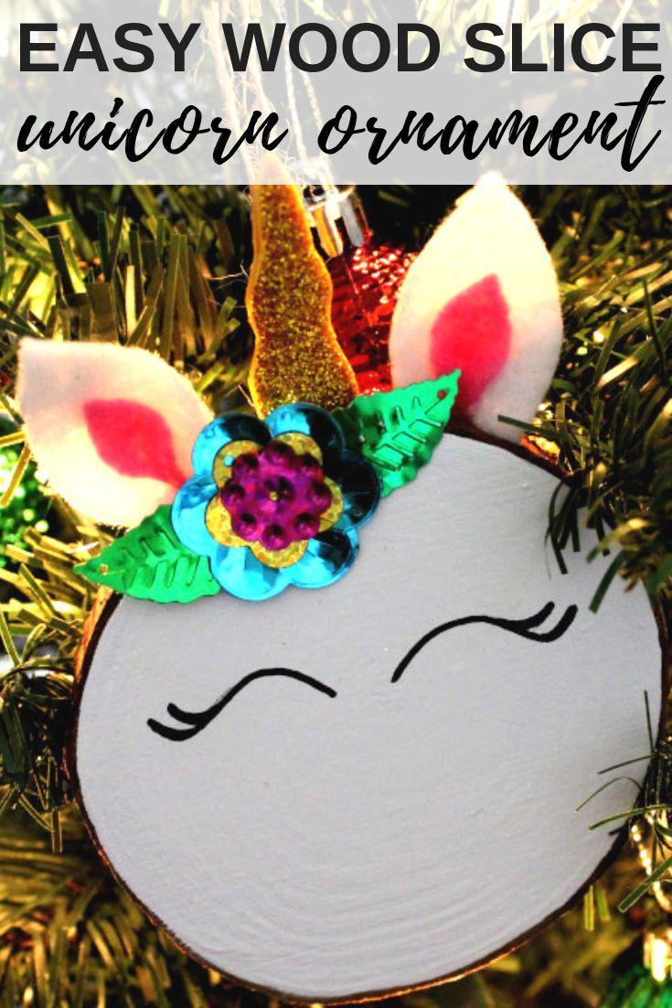 How To Make A Unicorn Christmas Ornament Recipe To Do