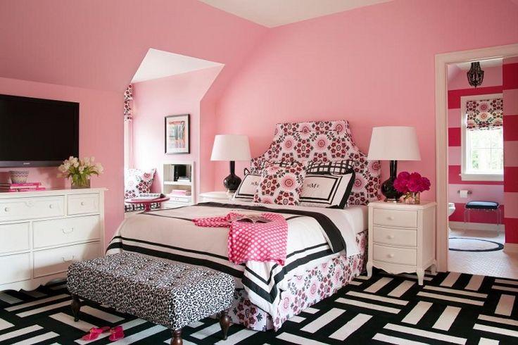 habitación rosa perfecta para las chicas