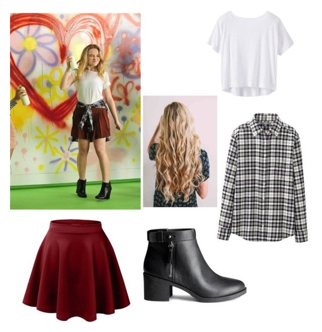 Sabrina Carpenter inspired outfit by graceb2003 on Polyvore featuring polyvore, fashion, style, Athleta, Uniqlo and H&M