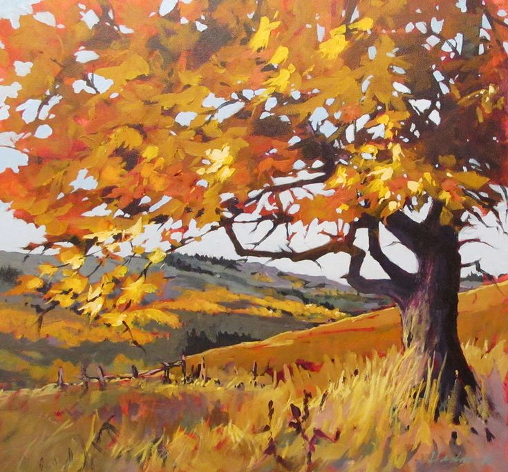 """Autumn on the Ranch"" by Perry Haddock"