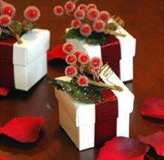 presentes para convidados casamento no natal - embrulhos
