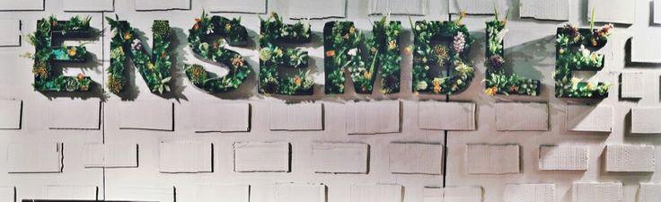 Diy succulent letters #signage #letters #typo #cacti