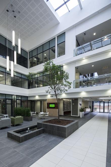 #Umhlanga Business Centre atrium
