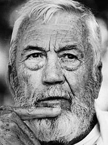 John Huston: Genius director, sometime actor... See The Maltese Falcon and Chinatown, if nothing else...