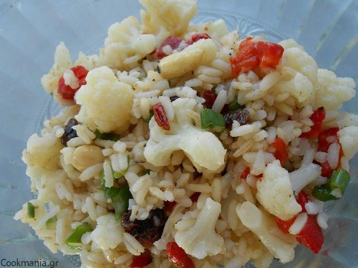 Τραγανή ρυζοσαλάτα - http://www.zannetcooks.com/recipe/rizosalatadetox/