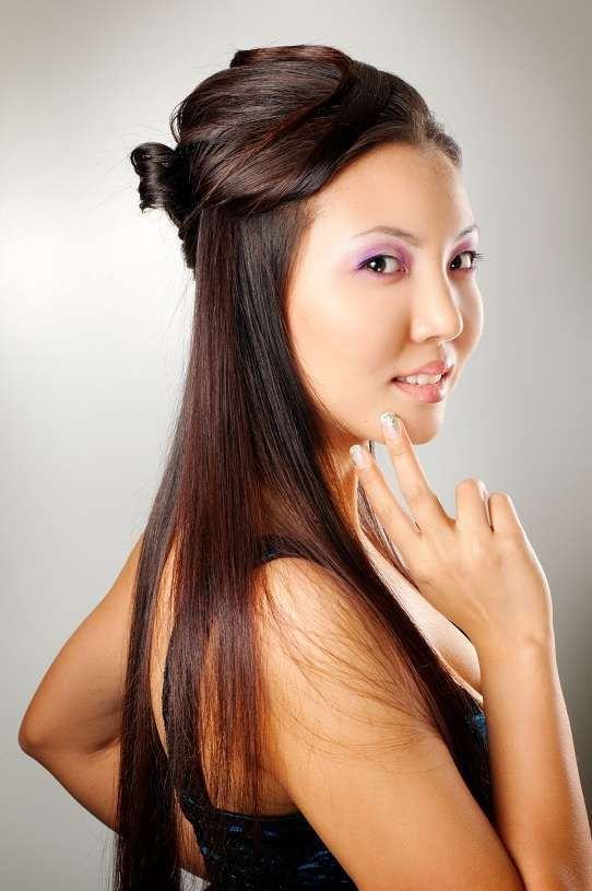 Traditional Japanese Hairstyles For Women Www Pixshark