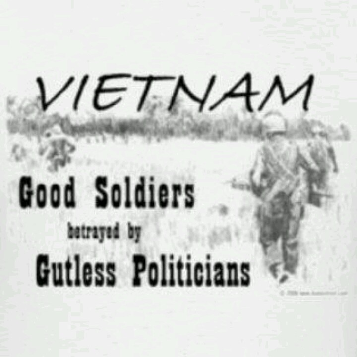 good soldiers betrayed by gutless politicians.