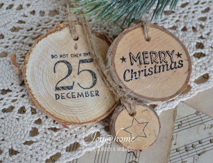 16 beste afbeeldingen van boomschijven kerstversiering for Boomschijven decoratie