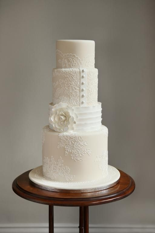The Professional Cake Decorating Techniques You Must Know Lace Wedding