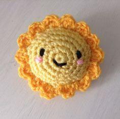 Suny le soleil amigurumi patron facile crochet en français (free pattern)