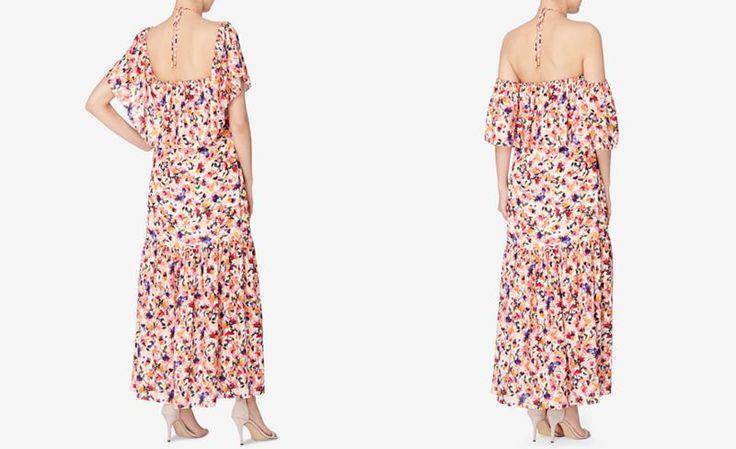 Catherine Catherine Malandrino Convertible Halter Maxi Dress - Dresses - Women - Macy's