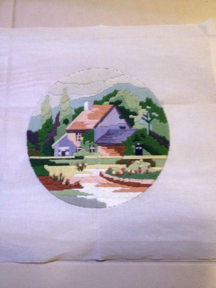 Long stitch with tardis