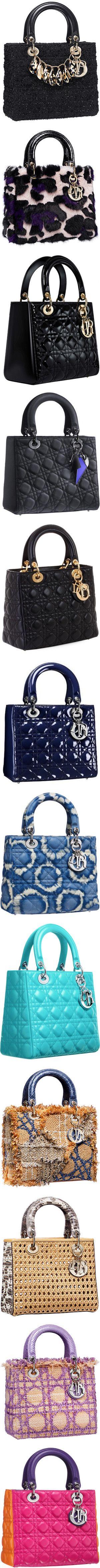 Lady Dior ♥✤ UN MODELO MIL COMBINACIONES!!!