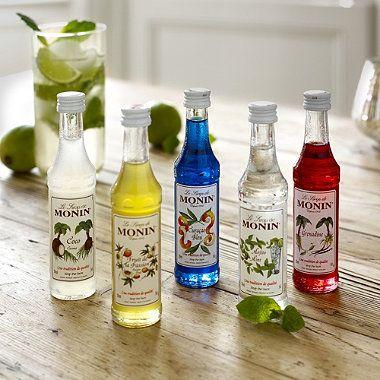 Monin® Cocktail Gift Set - From Lakeland How adorable ! #monin #cocktail #drink