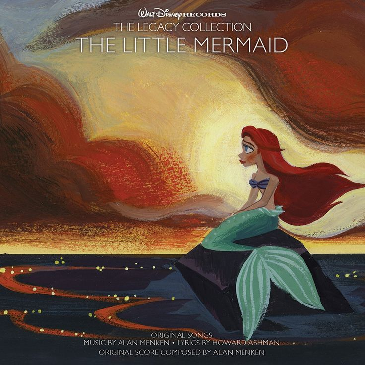 """Go Back 'Under the Sea' with Walt Disney Records """"The Legacy Collection: The Little Mermaid"""" and #win this 2 CD & commemorative booklet. #disney"""