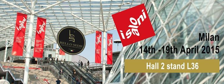 Bello Sedie Hall 2 Stand L36 We wait for You at iSaloni​  http://www.bellosedie.com