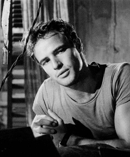 Marlon Brando in Streetcar Named Desire #MarlonBrando #Brando