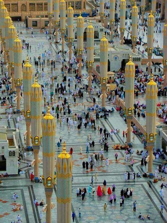 "Masjid al-Nabawi @ Madina al-Munawwarah ""Mosque of the Prophet Muhammad ﷺ"""