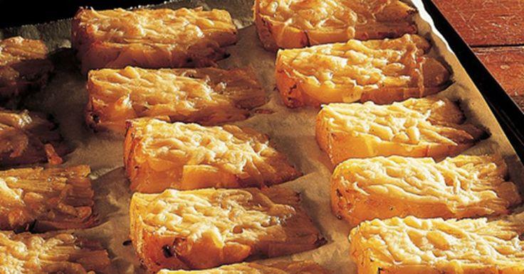 Kartoffelsnitter med ost
