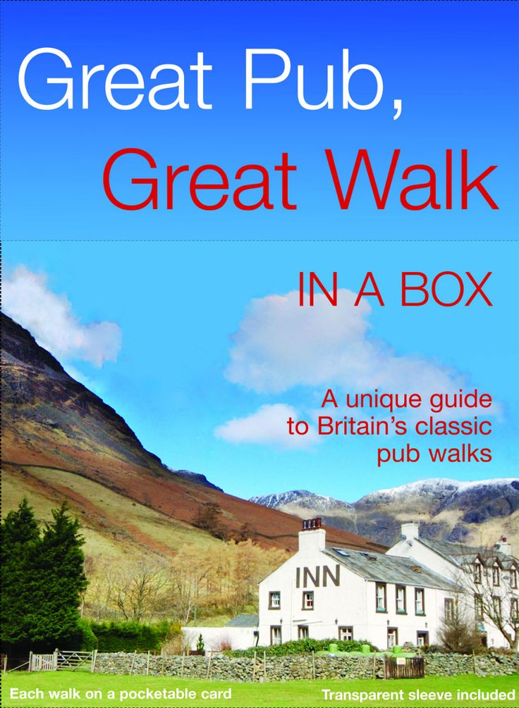 This guide brings together two supremely British past-times: pubs and walks