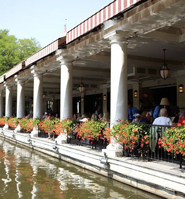 The Loeb Boathouse Central Park  East 72nd Street and Park Drive North  New York, NY