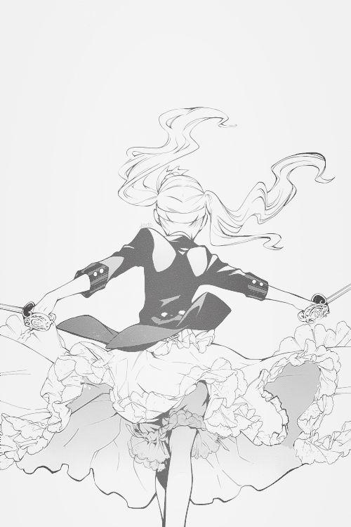 justademonbutler:  Kuroshitsuji / CHP. 57 /LadyElizabethEthel CordeliaMidford   One reason I like the Manga too