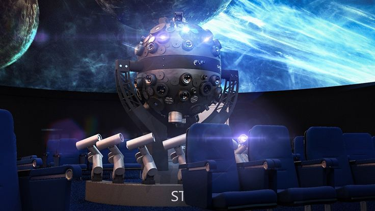 3D Model Planetarium Projector - 3D Model