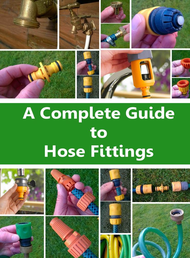 The Complete Guide to Garden Hose Fittings Garden hose