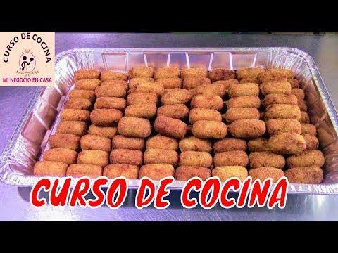 Como hacer croquetas de pollo para vender | curso …
