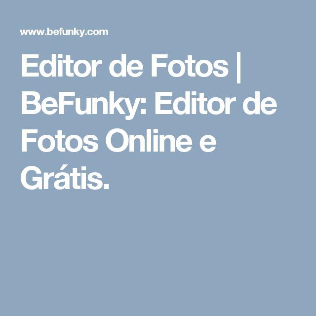 Editor de Fotos | BeFunky: Editor de Fotos Online e Grátis.