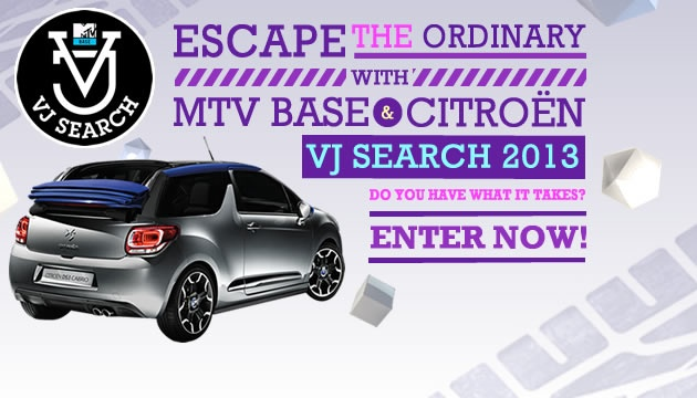 The MTV Base VJ Search is back, and we're looking for someone to join the exclusive ranks of the MTV Base family. A Citroën DS3 Cabrio awaits the winner! Enter now: http://www.mtvvjsearch.com/